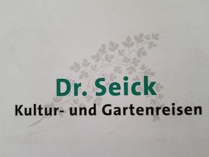 Dr. Seick Kultur- und Gartenreisen